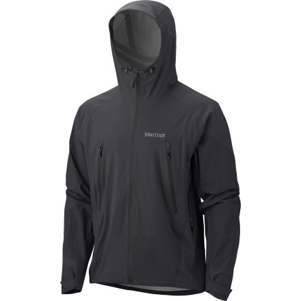 Marmot chose to craft the Men's Stretch Man Jacket with four-way stretch material because, in the vast number of storm shells in the world, you're rarely given freedom to flex freely inside your jacket. An array of weatherproofing features protect your from the foulest wet weather on the trail, and small details like core venting give you the control to achieve a comfortable temperature underneath. Believe in the power of a stretchy, technical shell and you'll discover an entirely new level of comfort when the sky opens up on your adventure. - $259.95