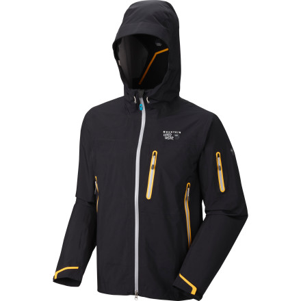 The Jovian Jacket from Mountain Hardwear is the lightest 3-layer jacket in the line. This packable shell was designed for backcountry adventure in varying weather conditions. That's why it's equipped with Mountain Hardwear's mad-scientist approved Dry.Q Elite waterproof and moisture managing membrane. - $274.97