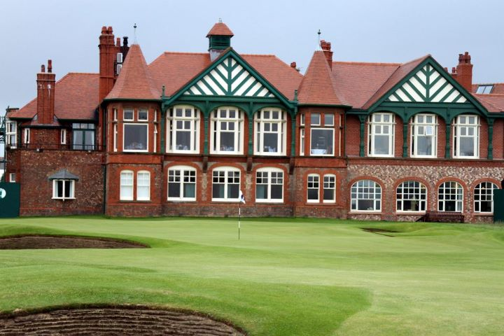 Golf A look at the famed clubhouse at Royal Lytham and St. Anne's, which stands historically proud behind No. 18 green.