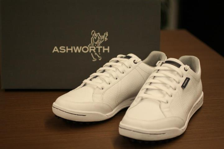 Golf New Cardiff in White / White / Dark Marine. 