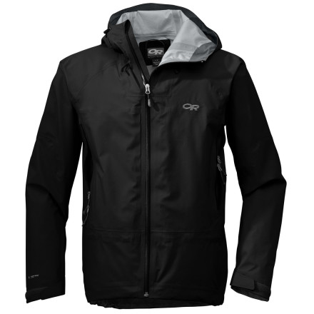 With its lightweight construction and waterproof breathable Pertex Shield 3L fabric, the Outdoor Research Paladin Jacket sheds storms to keep you dry during high-alpine mountaineering adventures. - $149.97