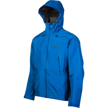 Climbing The lightweight Super Pluma Jacket burlier than it was when Patagonia first introduced it in the mid 90s. Patagonia reunited with Gore-Tex this year to offer the Pluma with waterproof breathable fabric and the earth-friendly technical simplicity youve come to expect from Patagonia - $549.00