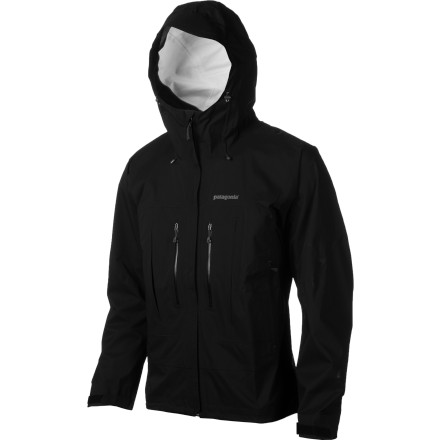 Leave behind the sub-alpine world and probe the upper atmosphere in the Patagonia Troposphere Jacket. As you navigate a technical ice or mixed route, the Troposphere moves with you to accommodate even the most acrobatic moves and toughest reaches with your ice tools. If the whether proves less than favorable, don't sweat it; proprietary H2No fabric resists moisture while allowing breathability for temperature regulation so you stay comfortable. - $299.00