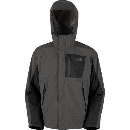 The North Face Men's Varius Guide Jacket handles weather abuse like a pro without making you feel like a crinkly-ol' stiff. - $139.27