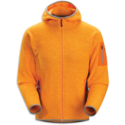 The Arc'teryx Covert Cardigan Full-Zip Sweater keeps you warm by itself on chilly days and can be used as a mid-layer when the mercury really takes a dive. This highly breathable fleece sweater sports more sophisticated styling than your average fleece or sweatshirt, so it can be worn anytime. - $198.95