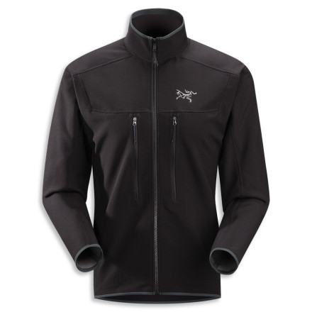 The Arc'teryx Men's Acto MX Jacket gives warmth and comfort to the weary backcountry traveler who has cast himself out into the cold, cruel backcountry. The Acto insulates and breathes like a fleece, while its DWR-coated nylon outer layer protects from nature's icy clutches. - $137.48