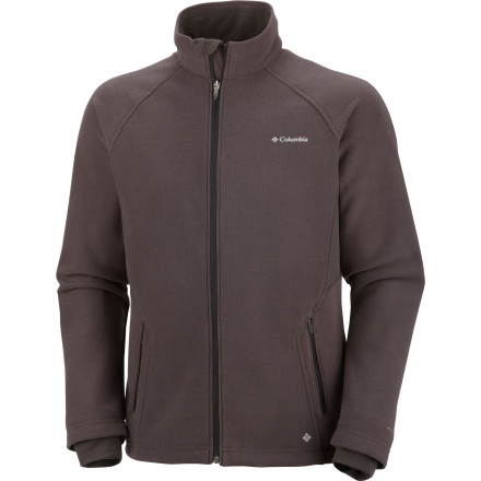 Rarely do you envy baked potatoes. But once the first super-cold front passes through, you start thinking otherwise. Thankfully you can just zip up the Columbia Thermarator II Fleece Jacket and allow its heat-reflecting Omni-Heat lining to keep your body heat inside just like a tater in foil. - $54.97