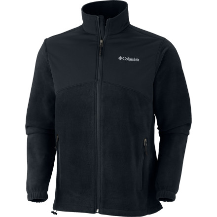 Once the cold and stormy winter lets in the spring sunshine, zip up The North Face Steens Mountain Tech Full-Zip Fleece Jacket and schuss around the mountain without overheating. This staple jacket features Omni-Shield advanced repellency to keep out stray flakes or slushy tumbles down the front side. - $69.95