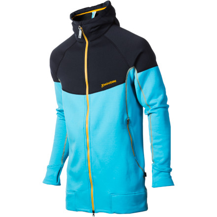 Houdini gave the Men's Stand Tall Houdi Jacket an extra-long cut so this fleece midlayer will keep you warm all the way past your hips. Power Stretch fleece is tough enough for life on or off the mountain, and the stretch fabric construction lets you move with ultimate freedom. This is a unique fleece jacket for those uniquely cold places on Earth that you like to travel. - $211.72