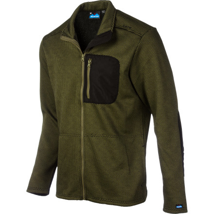 The Kavu Men's Dutch Harbor Fleece Jacket is all about showing your little nephew how to fish, fold paper airplanes, and ride a bike. - $62.97