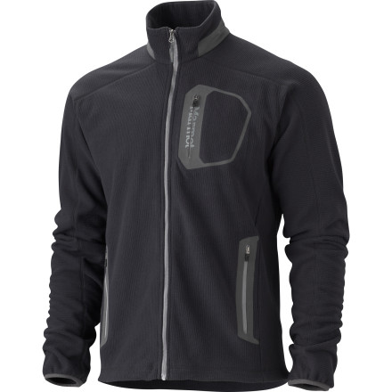 Sport the Marmot Alpinist Tech Fleece Jacket as a light mid-layer under a shell for a chilly day tour in the backcountry or wear it as an outer piece over a tee for fall hikes. - $87.47