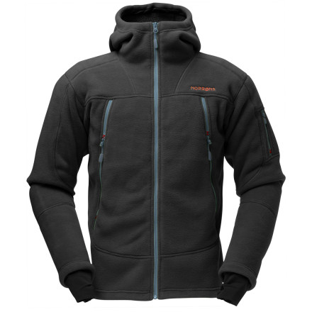 Ski You may be super-proud of your flashy new carbon KEVLAR titanium shell, but in the end the best piece in your wardrobe is the one that gives you the most versatility. The Norrna Men's Narvik Warm 3 Hooded Fleece Jacket serves many different functionsfrom chilly-weather stand-alone jacket to super-cold mid-layer; from backcountry essential to casual jacket for kicking it around town. - $120.84
