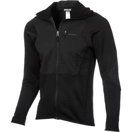 Camp and Hike The Patagonia Piton Hybrid Hooded Fleece Jacket boasts the comfort of a fleece baselayer with the attitude and wind resistance of a technical shell. Wear it as a solo layer when you're planning the next day's adventures at camp, or wear it as a layer under a hardshell before beginning your redpoint attempt on an elusive ice project. Built with Patagonia E-fibers and Bluesign approved, the Piton Hybrid also demonstrates Patagonia's ongoing commitment to a reduced ecological impact. - $125.30