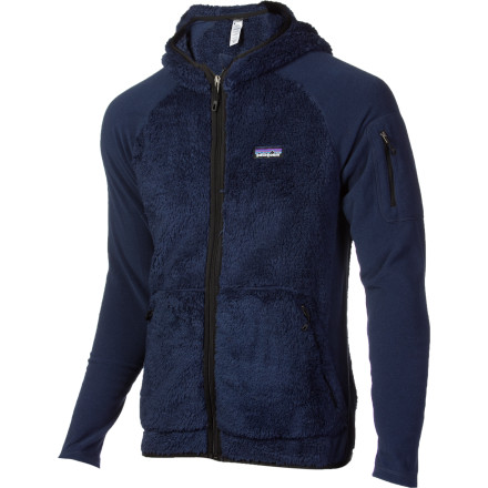 Zip up the Patagonia Los Lobos Fleece Jacket and cramp the cold's style. Mother Nature may think she has the last laugh with unseasonably cool weather, but she'll think again when she sees you in the absurdly soft, warm, deep-pile fleece of this polyester jacket. - $83.85