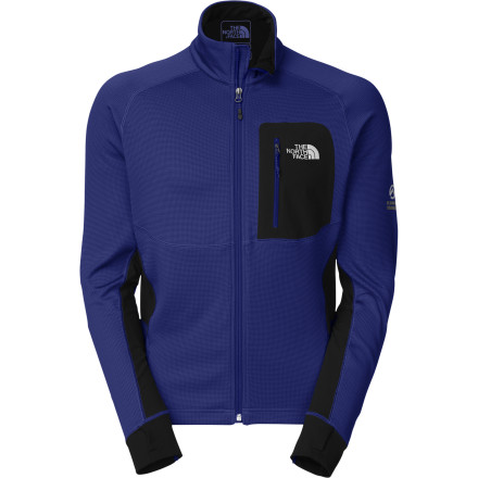 Ski When worn as a mid-layer, The North Face Skiron Fleece Jacket provides a stretchy, insulating, and breathable interface between your baselayer and your hard-shell climbing or skiing jacket. Stretchy fabrics and a low-profile design permit the mobility you need for long ski tours or demanding alpine ascents. - $84.98