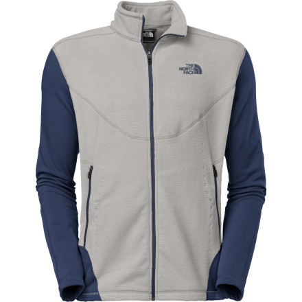 Fitness Cardio-oriented alpine athletes who value durable gear that won't cause them to overheat need look no further than The North Face Split Jacquard Fleece Jacket. Wear or pack the Split Jacquard before embarking on your next brisk morning trail run, and zip it up when the temperature starts to drop. This body-mapped fleece jacket optimizes thermal efficiency by placing warmth where you need it most. - $64.98