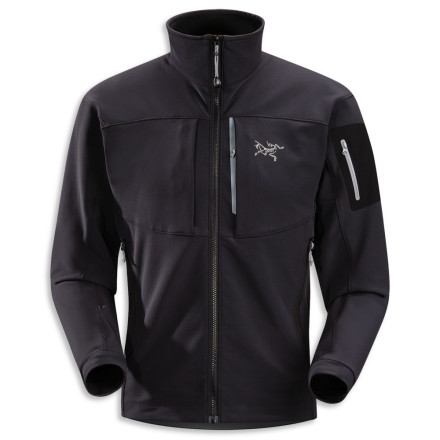 The highly breathable, lightweight Arc'teryx Gamma MX Jacket lets moisture escape so you don't get that clammy feeling while you're slogging out the miles in the backcountry. - $149.48