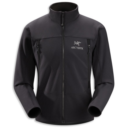 Arc'teryx constructed its Men's Gamma AR Jacket with durable Fortius 3.0 soft shell fabric to wick moisture away from your skin, retain your body heat, and allow you to remain fully mobile in the backcountry. - $259.95