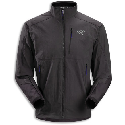 Arc'teryx designed the Gamma SL Hybrid Softshell Jacket to offer lightweight, breathable protection to athletes involved in highly aerobic winter activities where temperature regulation and moisture management can be problems. - $114.48