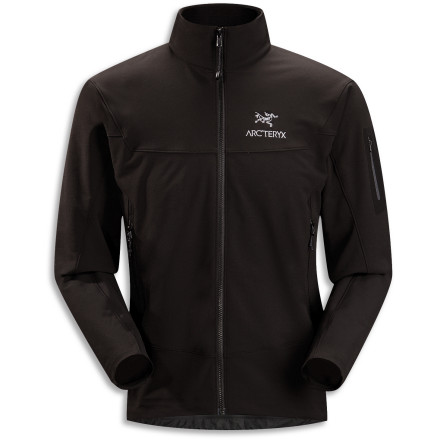 The Arc'teryx Gamma LT Softshell Jacket has become a legend among the backcountry crowd for its light weight and unbeatable breathability. Smart features like high zippered hand pockets and a brushed polyester inner collar remain, but updates like a longer body and a slimmer fit make the Gamma LT more useful than ever. - $218.95