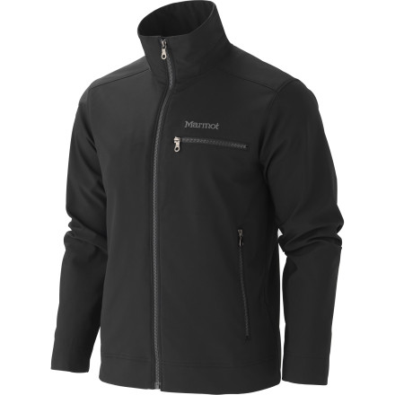 The Marmot Men's Eastside Softshell Jacket shrugs off light precipitation and sports a casual cut so you can wear it for a trip into town or rely on it to keep you comfortable when you travel. A high collar protects your neck from chilly breezes in the fall, and DriClime-lined cuffs provide some light insulation when you layer up for even colder weather. Marmot designed the Eastside jacket with simple, clean lines so you can wear these technical threads and still maintain a classy look. - $139.95