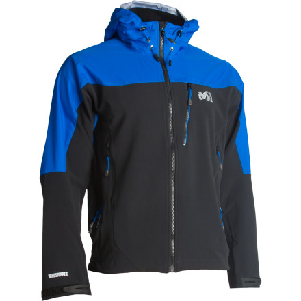 The Millet Men's W3 WDS Composite Jacket makes an ideal layering piece for super-cold climates or a breathable shell for the athlete who is involved in intense aerobic winter activities. - $181.42