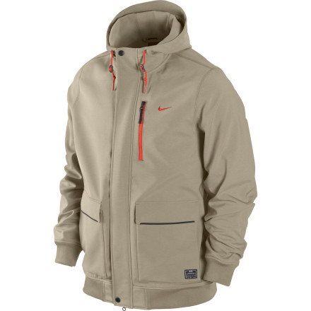 Snowboard The Nike Stumptown brings mountain-worthy breathable fabric together with a bomber-jacket styling that's fit for the streets. Wear the Stumptown on the hill under a shell or over a mid layer, or run it as casual outerwear for fall and spring weather. - $75.98