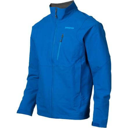Navigate the steeps in comfort and warmth with the Patagonia Alpine Guide Softshell Jacket. This intuitively designed softshell blends a conventionally two-layer design into an efficient, single layer of Polartec Power Shield stretch-woven fabric. Flexible enough to move with you but resilient enough to block the elements, the Alpine Guide Softshell makes a great companion for when you're hucking your way up a frozen waterfall. - $229.00