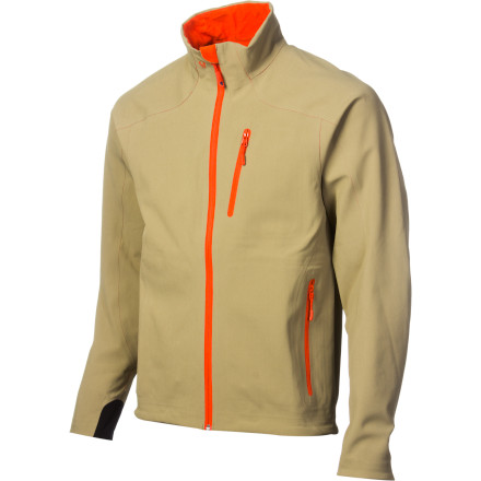 Fitness Make the Stoic Men's Monolith Softshell Jacket the first jacket you reach for when you head out for a chilly morning trail run or backpacking mission in the fall. Highly breathable Monolith softshell fabric keeps you warm while also allowing excess heat to move away from your body, a point of difficulty for many competing midweight insulating layers. The versatile 3-D ergonomic cut leaves just enough room for your baselayer and a thin midlayer, and it allows for unrestricted range of motiona nice touch when you're moving in the mountains, on the trail, or around town. - $179.00