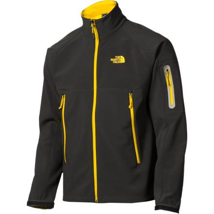Looking for a jacket that suits multi-day backpack trips, day hikes, and bike commutes' The North Face Men's Quantas Softshell Jacket provides substantial weather protection with a soft and flexible feel that you won't get from a hardshell. - $81.92