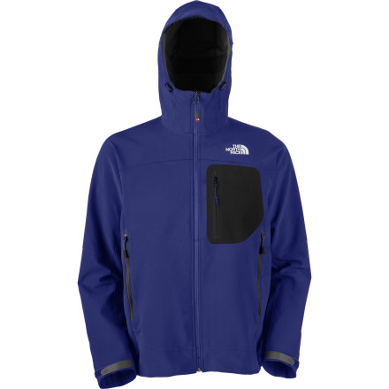 The Men's Kishtwar Softshell Jacket is The North Face's Summit Series offering for highly aerobic activities in harsh, cold-weather environments. In other words, it's the absolute cream of the The North Face crop. Polartec Power Shield Pro is windproof, water-resistant, super-durable, and extremely breathable to protect you and keep you comfortable at the same time. - $139.98