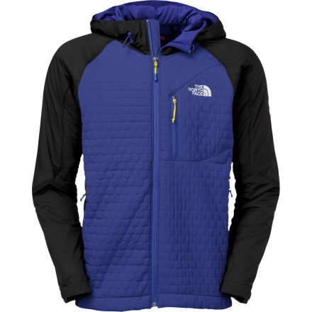 The North Face used body-mapping technology during the design of the Polar Hooded Softshell Jacket. What that means is that the Polar is warmer where you get colder and cooler where you naturally stay warmer. this results in greater comfort, less weight, overall greater efficiency between the jacket and your body to regulate temperature. - $149.48