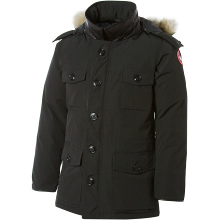 The Canada Goose Men's Banff Down Parka gives you plenty of style and plenty of room to carry stuff, not to mention impenetrable protection from the cold. - $724.95