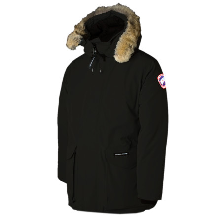 When the cold north wind blows and the outside temperatures threaten to send you into a deep freeze, put on your Canada Goose Men's Ontario Down Parka and bask in its fluffy warmth. Designed by the same team that makes expedition parkas for the world's most renowned arctic adventurers, the Ontario blends cold-weather tech with impeccable styling so that you can enjoy a shiverless winter. - $694.95