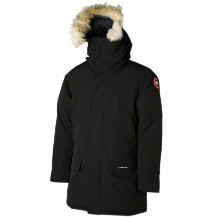 Before boarding your private plane for that swanky film festival north of the boarder, make sure to excavate your Canada Goose Men's Langford Down Parka from its lock box in your airport hanger. This bomber coat features plenty of tech to keep you warm up in those arctic winds, and its sleek urban styling will make you look like the world traveler that you are when you walk through the theater's double doors. - $694.95