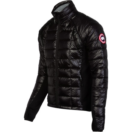 Canada Goose designed its award-winning Men's hybridge Lite Softshell Jacket with Thermal Mapping tech, which strategically combines 800-fill goose down in areas where you need it most with highly breathable Polartec Power Strech Hardface in zones that require greater ventilation. A slim fit keeps the insulation and warmth close to your body, and its highly compressible design makes it easy to fit in your pack. - $346.47