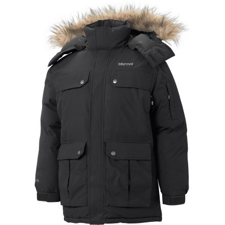 Get your glam on this winter with the Marmot Dawson Parka. This storm-ready parka will get you sliding on past the velvet ropes on the way to wintertime premieres. - $237.48