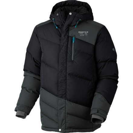 Storms and rapidly dropping temperatures can freeze you out before you even have time to count your layers. Mountain Hardwear designed the Downhill Parka using hard-hitting, high-tech materials and cold-busting down insulation to keep you prepped for serious conditions. - $244.97