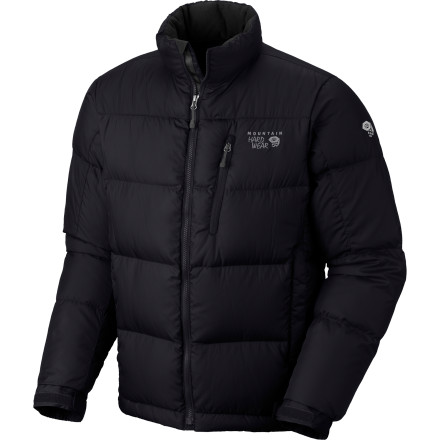 The Mountain Hardwear Men's Hunker Down Jacket provides the warmth for a dry winter's day but but is always ready to play nicely with a shell when the weather turns south. The lightweight but highly effective goose down goes to work insulating your core, giving you the confidence to tackle that slope or traverse the stormy glacier. - $123.72