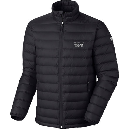 Ski Skip the bulky, heavy fleece layers and go with the Mountain Hardwear Nitrous Down Jacket.  Equipped with compressible 800-fill down insulation, this low-bulk alternative hides in the corner of your backpack, unnoticed, until you need it most. - $199.95