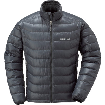 Ski Lofty 650-fill goose down insulation helps the Montbell Men's Highland Down Jacket fight off the bitterness of cold fall and winter temperatures. With a shell designed for packability and treated with a water-resistant coating, this jacket is ideal as an insulator for ski touring or backpacking, although you could wear it around town everyday if you wanted to. Montbell kept the design of the Highland simple by focusing on warmth and reliability, a welcome approach to the outdoorsman who could care less about bells and whistles. - $108.95
