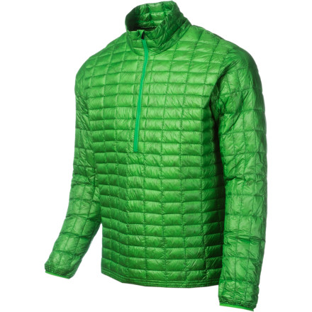 Hunting Pack the Patagonia Mens Ultralight Down Shirt in your backpack. Its so light you wont even remember its there (until the sun goes down and the chill comes in). Quilted nylon treated with DWR protects the 800-fill down so you know it will maintain warmth and loft as part of your layering system or by itself. - $161.85