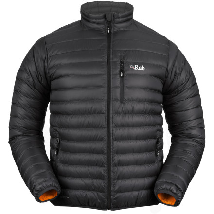 Tough but light, the Rab Microlight Down Jacket displays great versatility that can come in handy during your alpine adventures. - $214.95