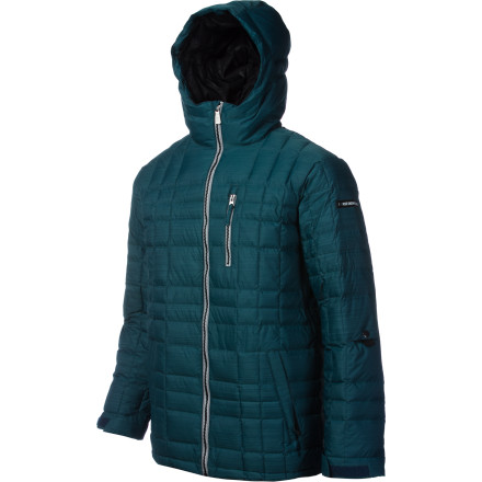 The Ride Capitol Down Jacket was made to help you endure harsh weather you encounter during the season. 300g of down fill keeps you cozy on the coldest days, and 15K-rated fabric prevents the insulating properties of down from being negated by moisture, so you can keep shredding when others head for shelter. - $159.98