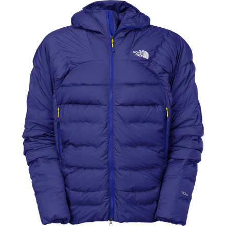 The minimalist design of The North Face Shaffle Jacket betrays its technical ingenuity. Special 700-fill Eastern European goose down offers superior insulation but remains extremely compressible, and strategically mapped baffles keep the insulation in areas where it's most need to minimize weight while maximizing warmth. - $274.42