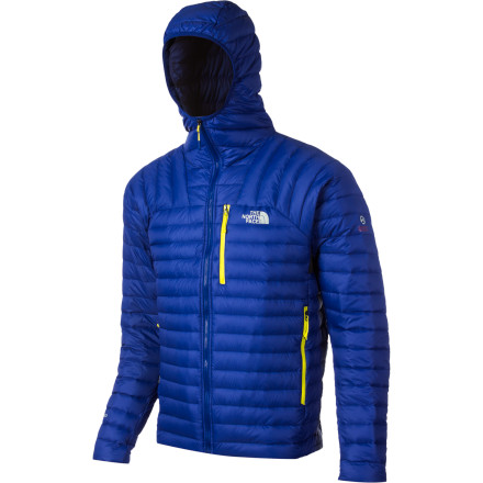 When you're braving the bone-chilling temperatures on McKinley, layer up with your The North Face Catalyst Micro Down Jacket.  When worn under a waterproof shell, this packable, insulating jacket keeps the cold out and your body heat in so you can keep moving through the challenging conditions; once the storms abate, this featherweight hooded jacket unobtrusively keeps the cold at bay on its own. - $194.32