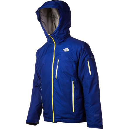 Howling winds, blinding snow, and single-digit temps don't stand a chance against The North Face Men's Makahawk Down Jacket. Its waterproof, windproof, and breathable WindStopper fabric fends off the elements while 700-fill down keeps you toasty throughout your backcountry, sidecountry, or resort excursions. - $257.97