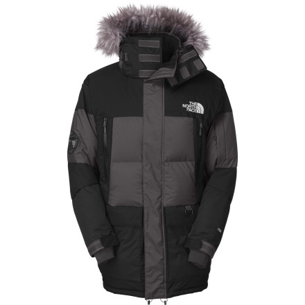 The North Face Vostok Down Pocket is one-piece head-to-hips cold-weather armor. Waterproof breathable membrane and 700-fill down insulation ensure that you can head out no matter how cold it is and be toasty, unless you forget to wear pants again. - $219.42
