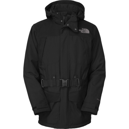 The North Face Taranis Jacket has the technology of an Italian supercar with the style and sophistication of a British limousine. HyVent waterproof breathable shell fabric keeps Mother Nature outside, while 550-fill down locks in the heat, and the best part is that you don't look like you just missed your ride to the resort as you brave city streets in the dead of winter. - $293.97