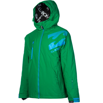 Snowboard Skip the stuff you don't need and keep things simple with the Billabong Banks Insulated Jacket. Tough, waterproof twill fabric stands up to abuse from all those falls you keep taking, 80g insulation protects you from mid-winter chill, and it comes at a price that won't drain your whole paycheck so you can put some skrilla away in your savings account...or buy everyone shots at the bar. - $83.23